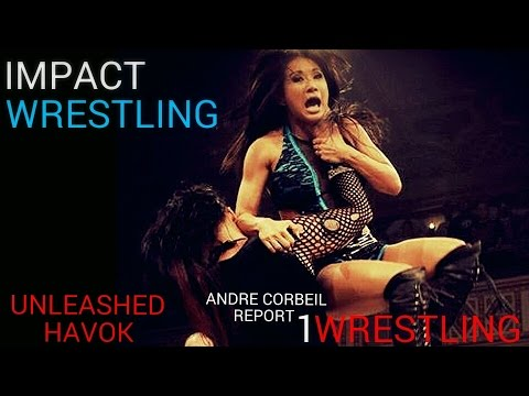 IMPACT WRESTLING 1/10/14: HAVOK VS GAIL KIM. FOR THE KNOCKOUTS TITLE. TNA IMPACT WRESTLING 01/10/14