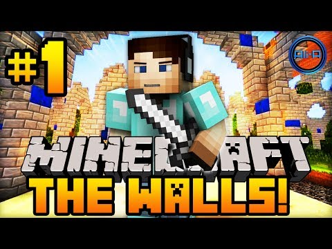 Minecraft THE WALLS - w/ Ali-A #1 -