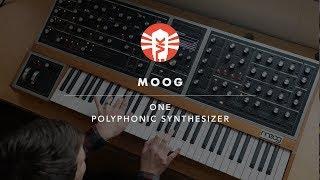 Moog One   Polyphonic Analog Synthesizer   Vintage King