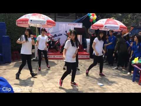 Dạy Nhảy shuffle Dance Cực Đỉnh Của Nhóm Bạn Học Sinh.