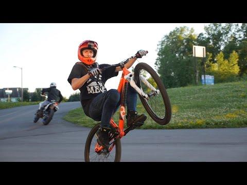 Freestyle MTB Vlog with @JerBear110