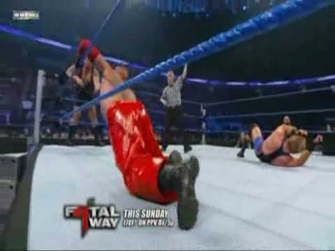 Rey Misterio & Big Show vs Jack Swagger & CM Punk WWE Match