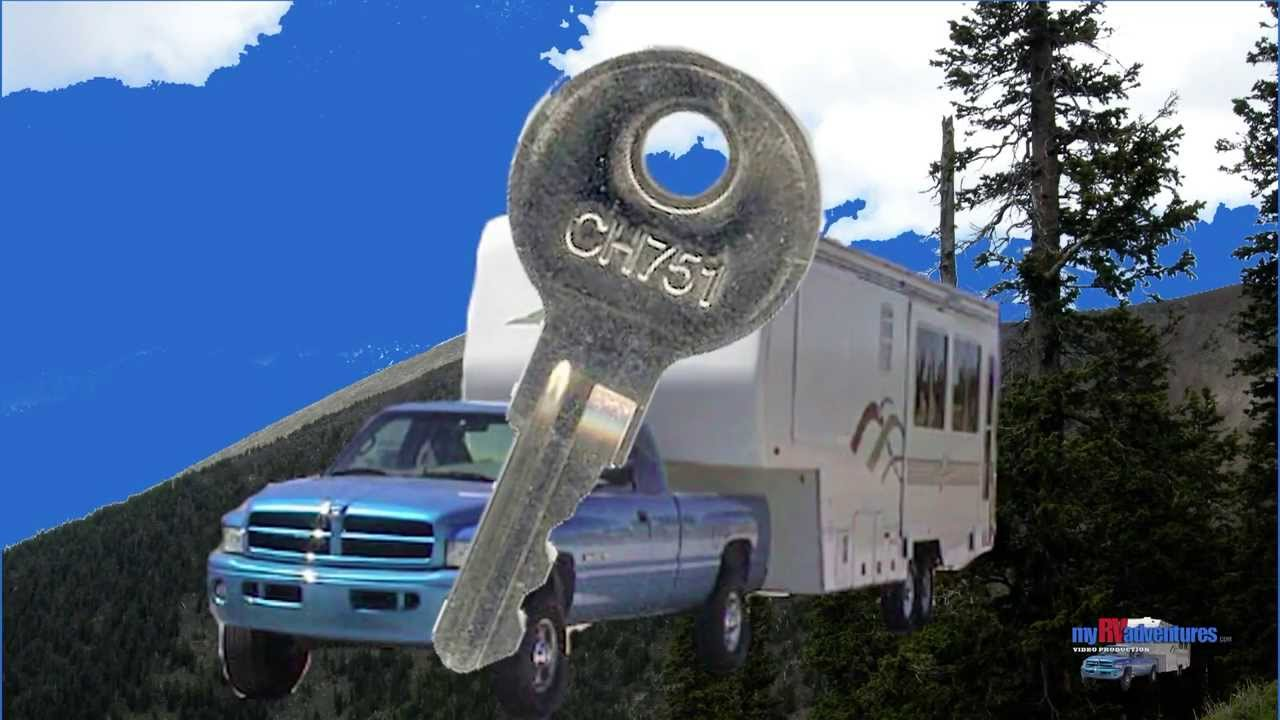 Rv security changing out your ch751 keys for rv storage doors