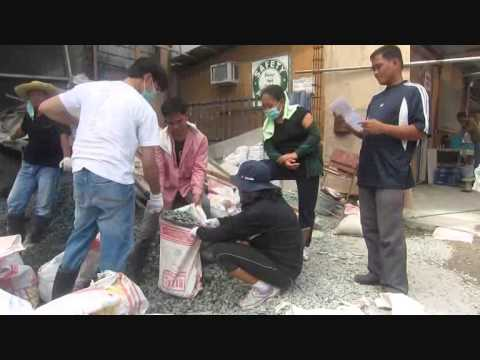 Kingdom Hall Construction Volunteers in Taguig City, Philippines  Part 3/4