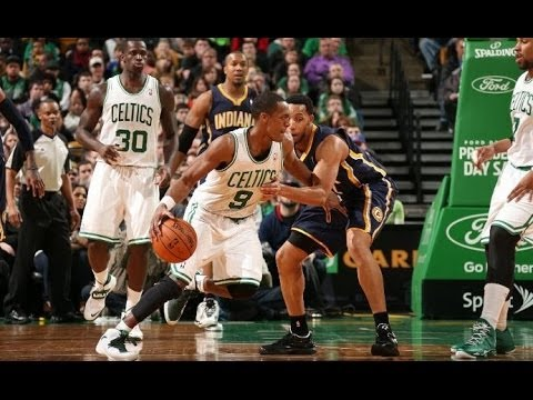 Rajon Rondo 12 points,11 assists,7 rebounds vs Indiana Pacers 3/1/2014 - Full Highlights - [HD]