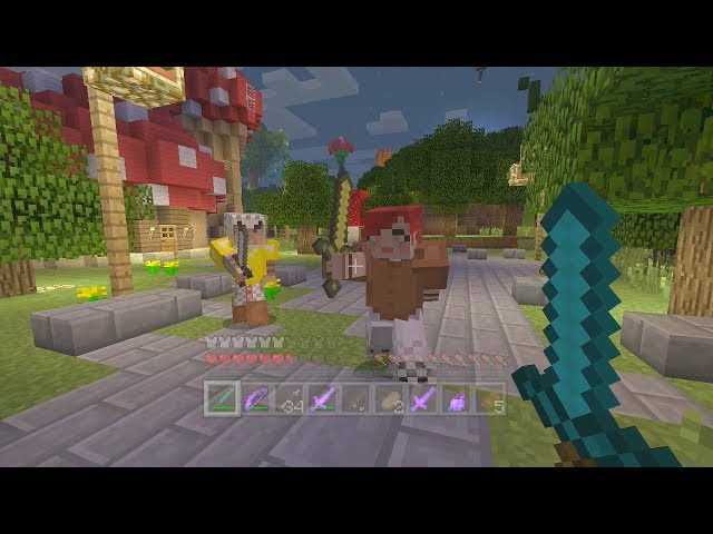 Minecraft Xbox - Enchanted Island - Hunger Games