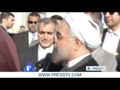 President Rouhani arrives in New York for UN General Assembly