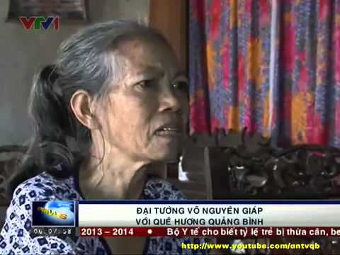[Bản tin thời sự VTV] Đại tướng Võ Nguyên Giáp với quê hương Quảng Bình-Bản tin thời sự VTV 2013