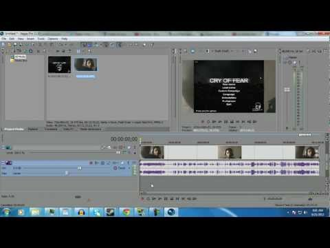 Sony Vegas: How to Overlay One video on another(plus a question)