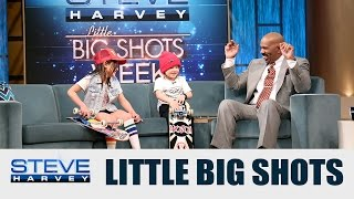 Little Big Shots: I just saw my shin bleeding    STEVE HARVEY