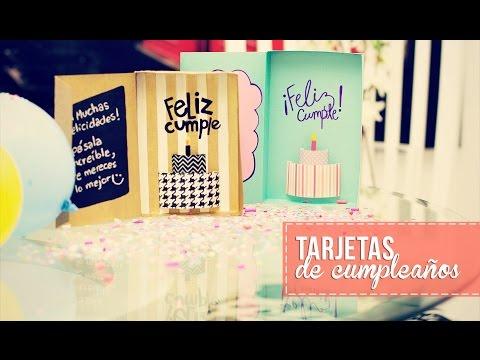 Tarjeta de cumpleaños 3D -Anie