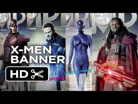 X-Men: Days of Future Past - Empire Character Banner (2014) - Patrick Stewart, Hugh Jackman Movie HD