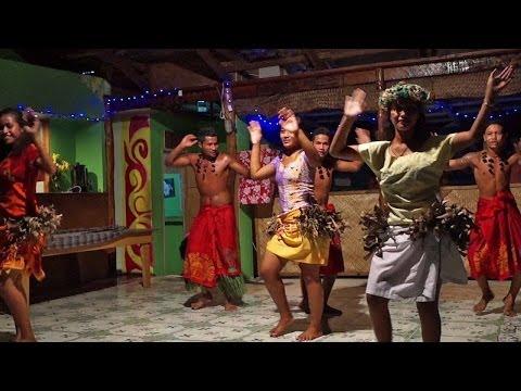 Drum dance, Samoa