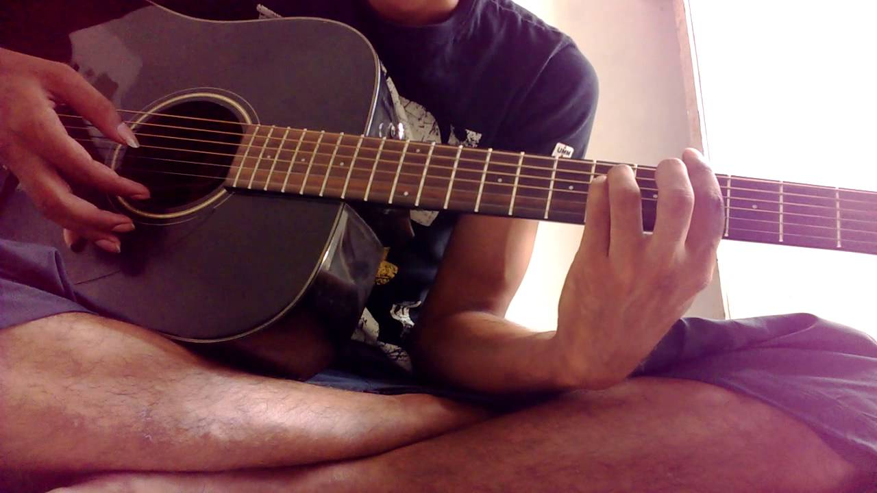 zaroorat ek villain guitar chords lesson intro strumming - YouTube