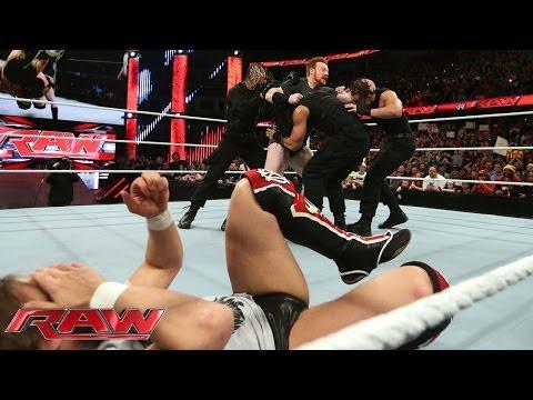 Daniel Bryan, John Cena and Sheamus clash with The Shield: Raw, Jan. 27, 2014