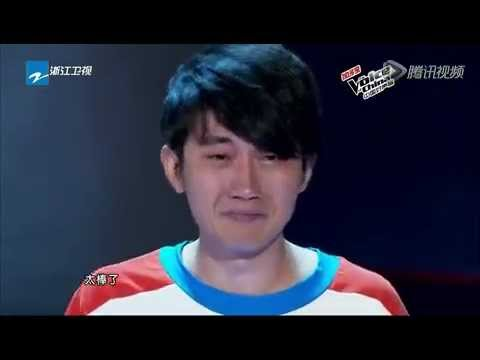 Crazy For Love by Jin Zhiwen- Audition 4 The Voice of China 1