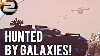 HUNTED BY GALAXIES! Planetside 2 Funny moment