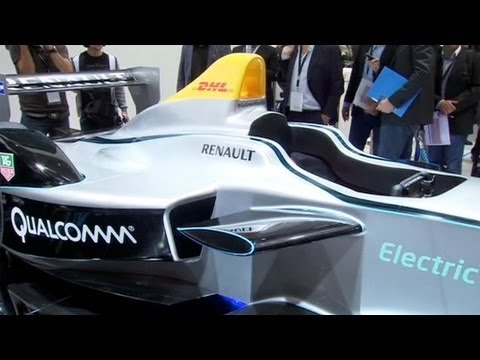 Future of racing? Formula E unveils fully-electric car - the Spark-Renault SRT 01E