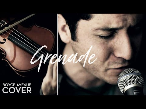 Grenade - Bruno Mars (Boyce Avenue cover) on iTunes &amp; Amazon