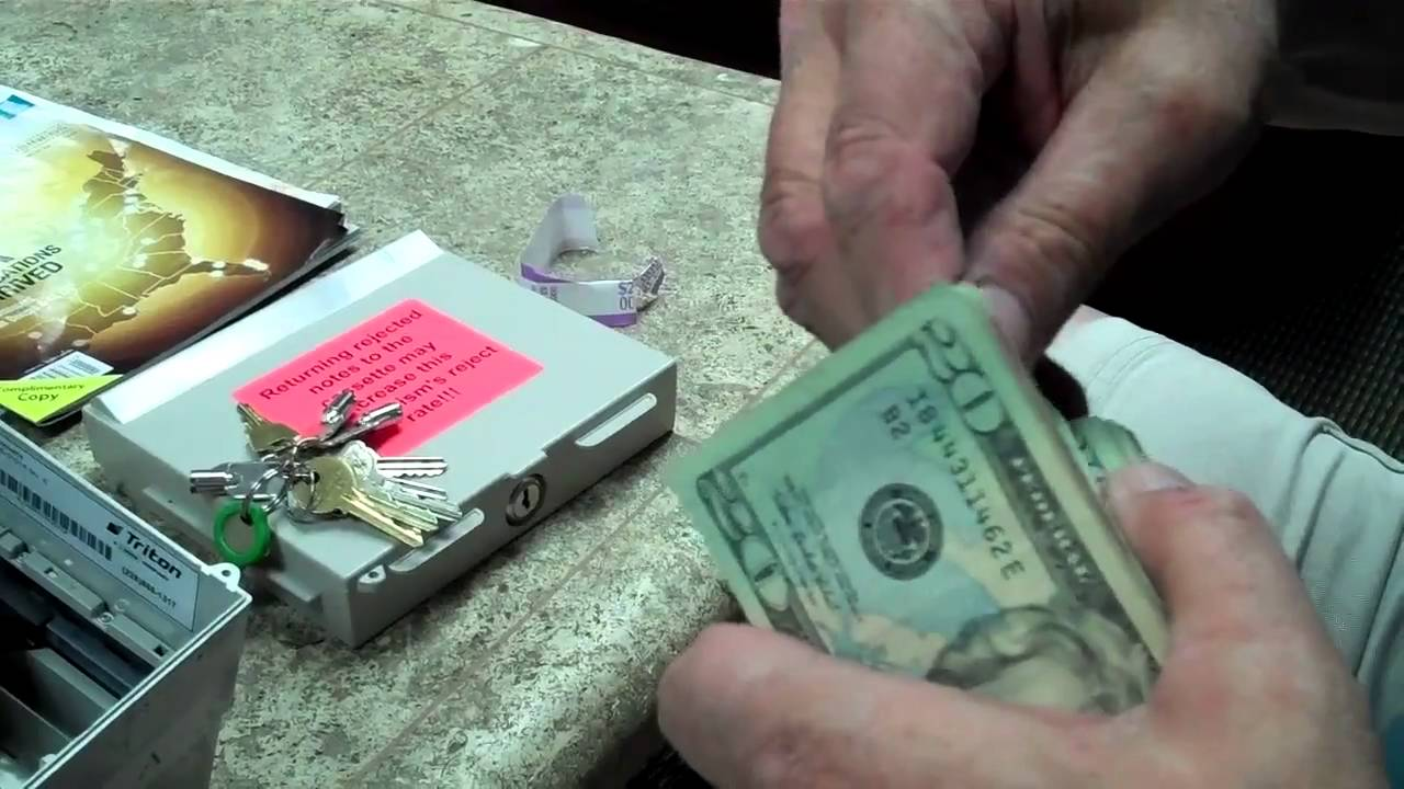 How to Load Cash in a Triton ATM Machine - YouTube