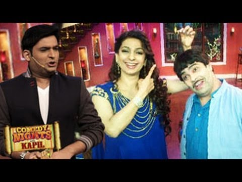 Juhi & Madhuri Dixit PROMOTING Gulaab Gang Comedy Nights with Kapil 2nd March 2014 FULL EPISODE