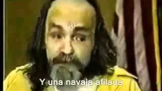 Charles Manson - Soy nadie