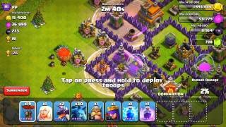 Clash Of Clans Defenseless Champion #10: Crystal Raiding