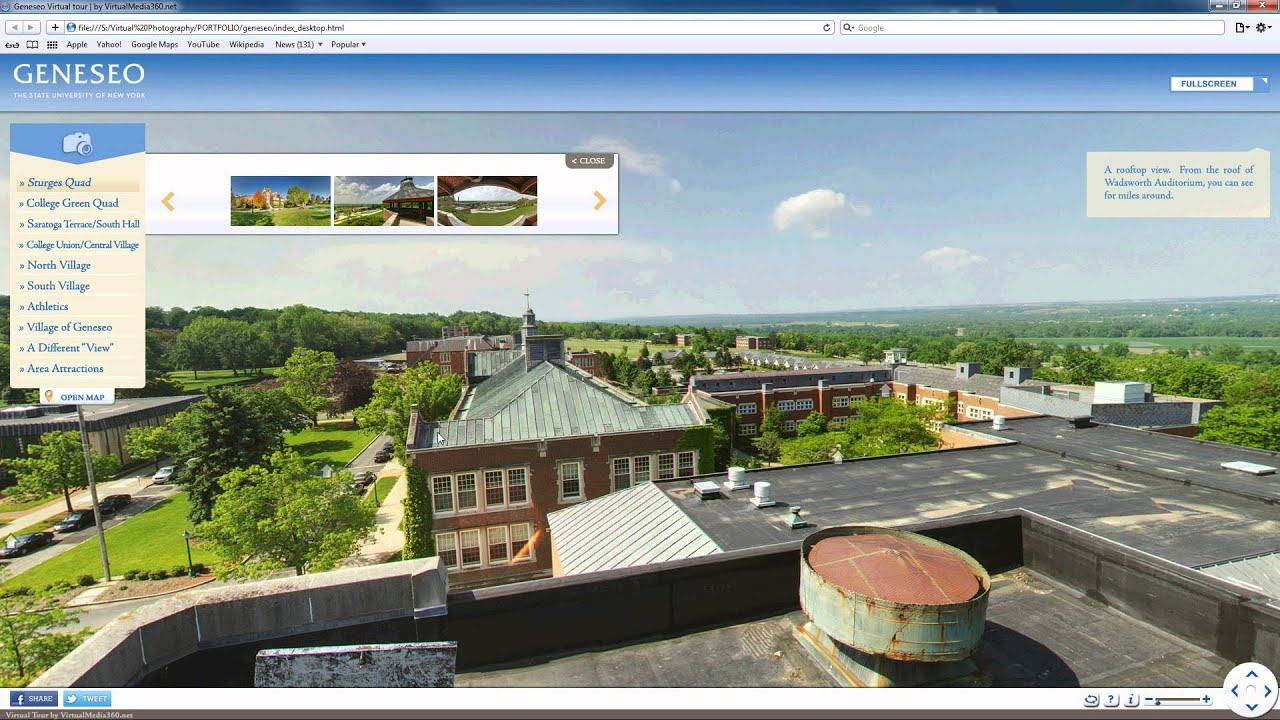 how to add google virtual tour to wordpress