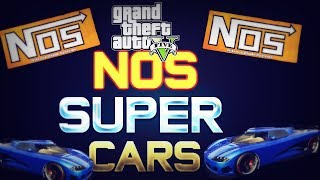 GTA 5 Online: Super Cars With NOS How To Get Adder And