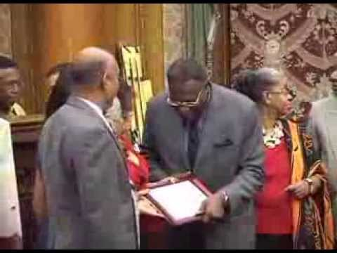 Clive Lloyd 2013 Guyana Cultural Association Lifetime Achievement Award