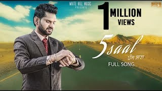 5 Saal Gagan Gitaz Video HD Download New Video HD