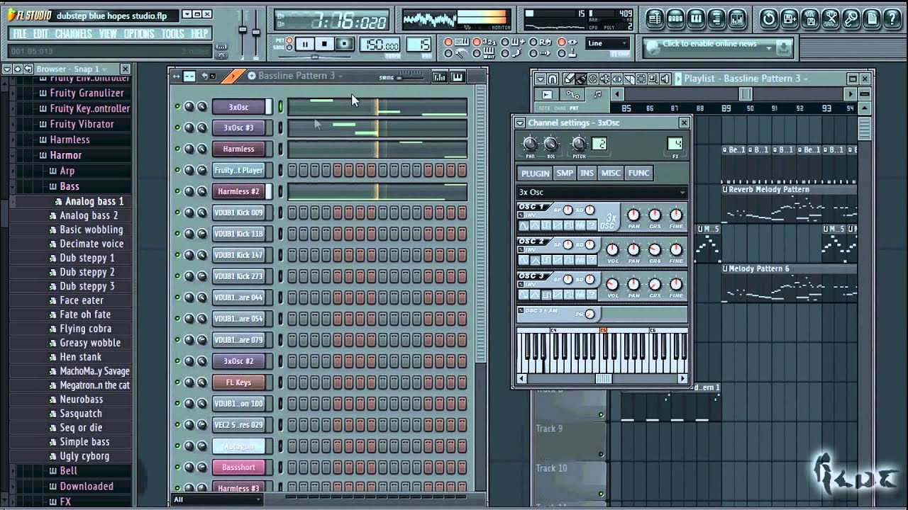 how to make a dubstep melody in fl studio 11