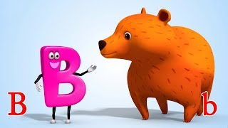 ABC Song | Alphabet Songs | ABCD song for kids nursery rhymes from Jugnu Kids