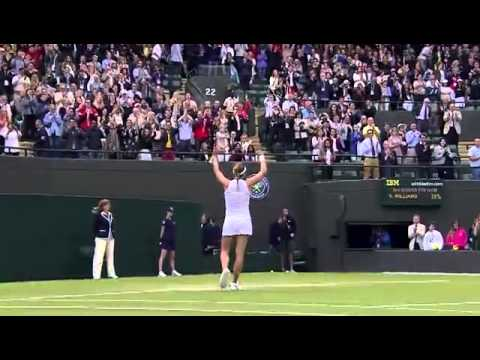 Cornet knocks Serena Williams out of Wimbledon 2014