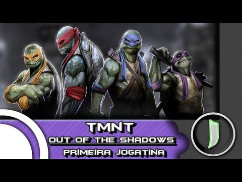 Teenage Mutant Ninja Turtles: Out of the Shadows - Primeira Jogatina