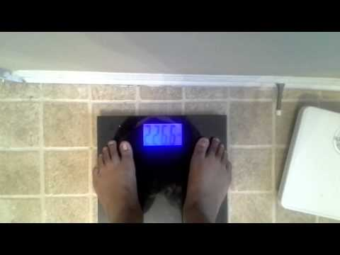 Liquid fast Day 2-June 14,2014~morning LIVE weight