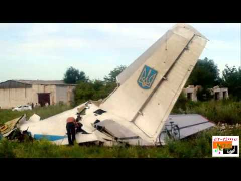 Ukraine military plane shot down as fighting rages