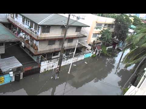Flood Due to Typhoon Glenda after 10 minutes