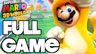 Super Mario 3D World FULL GAME!!! Complete Gameplay