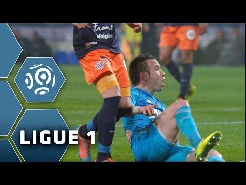 But Mathieu VALBUENA 42' - Montpellier Hérault SC-Olympique de Marseille (2-3) - 11/04/14 - MHSC-OM