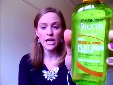 REVIEW - Garnier Fructis Style - Sleek & Shine Flat Iron Perfector