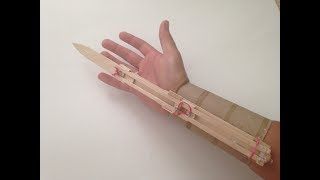 How to Make an Assassin's Creed Hidden Blade Out of Household Items