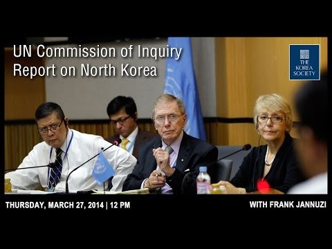 UN Commission of Inquiry Report on North Korea with Frank Jannuzi