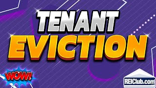 Tenant Eviction How To Evict A Tenant
