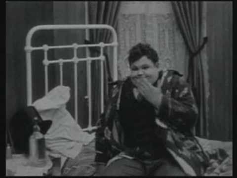 "Oliver Hardy in ""One Too Many"" (1916)"