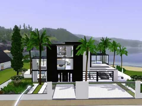 Displaying (18) Gallery Images For Sims 3 Beach House Plans.