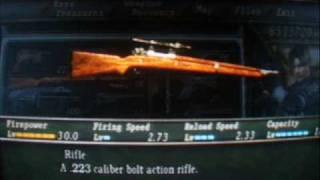 Resident Evil 4 Demonstração De Todas As Armas