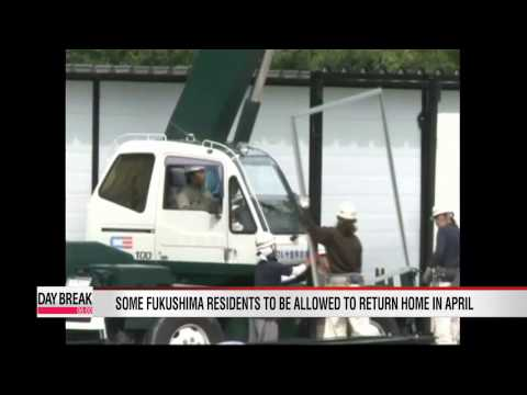 Some Fukushima residents allowed to return home