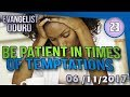 be patient in times of temptations by