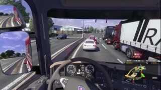 Euro Truck Simulator 2 Scania Gameplay Transporting A